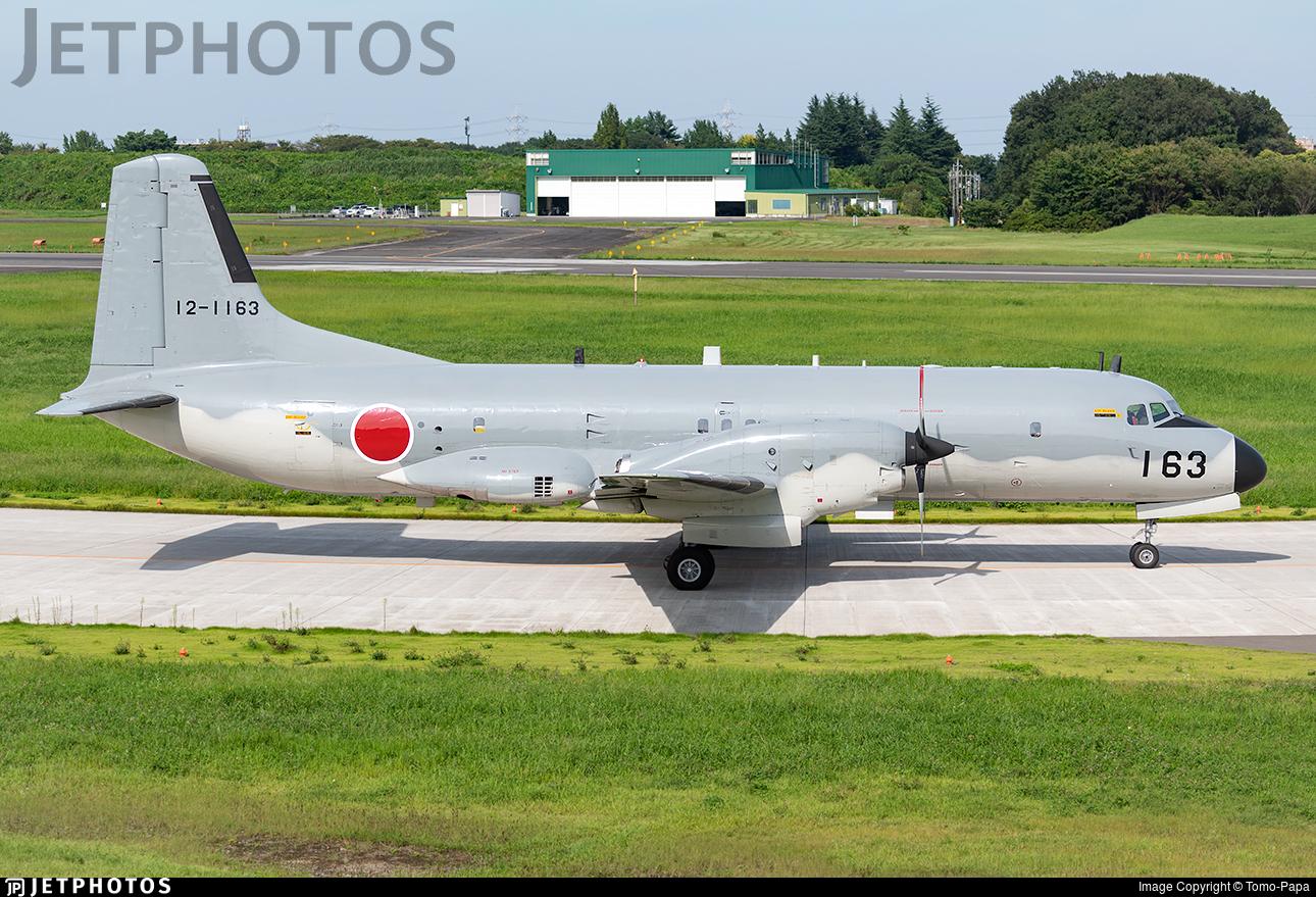 12-1163 - NAMC YS-11EA - Japan - Air Self Defence Force (JASDF)