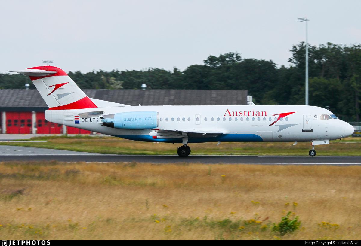 OE-LFK - Fokker 70 - Austrian Airlines
