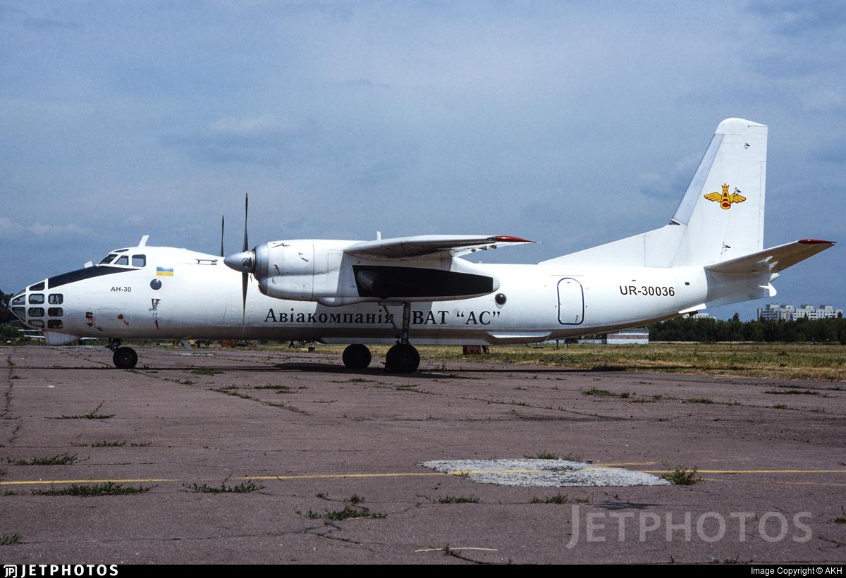 UR-30036 - Antonov An-30 - Aircompany VAT