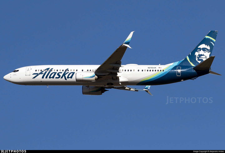 N215AK - Boeing 737-990ER - Alaska Airlines