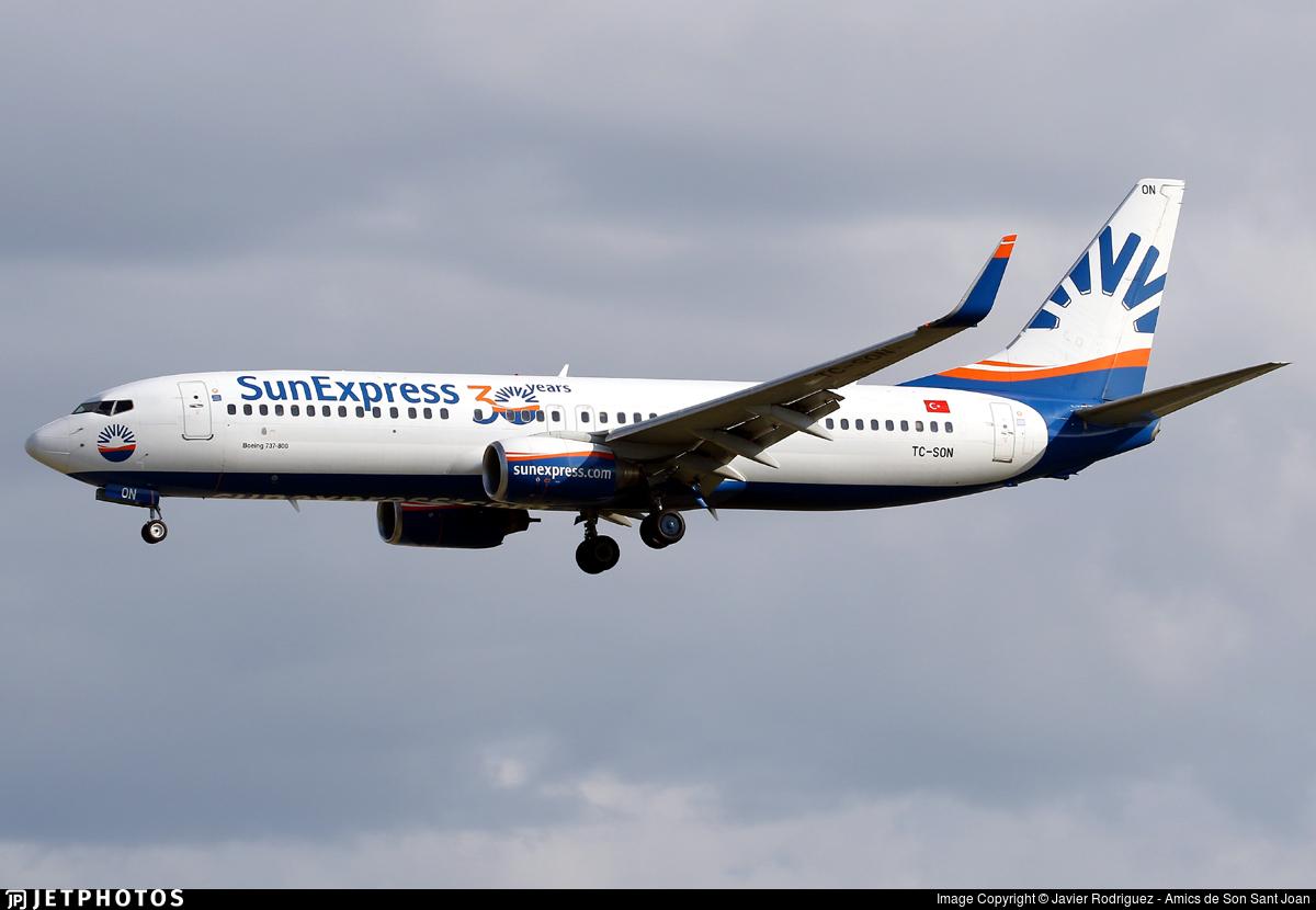 TC-SON - Boeing 737-86J - SunExpress