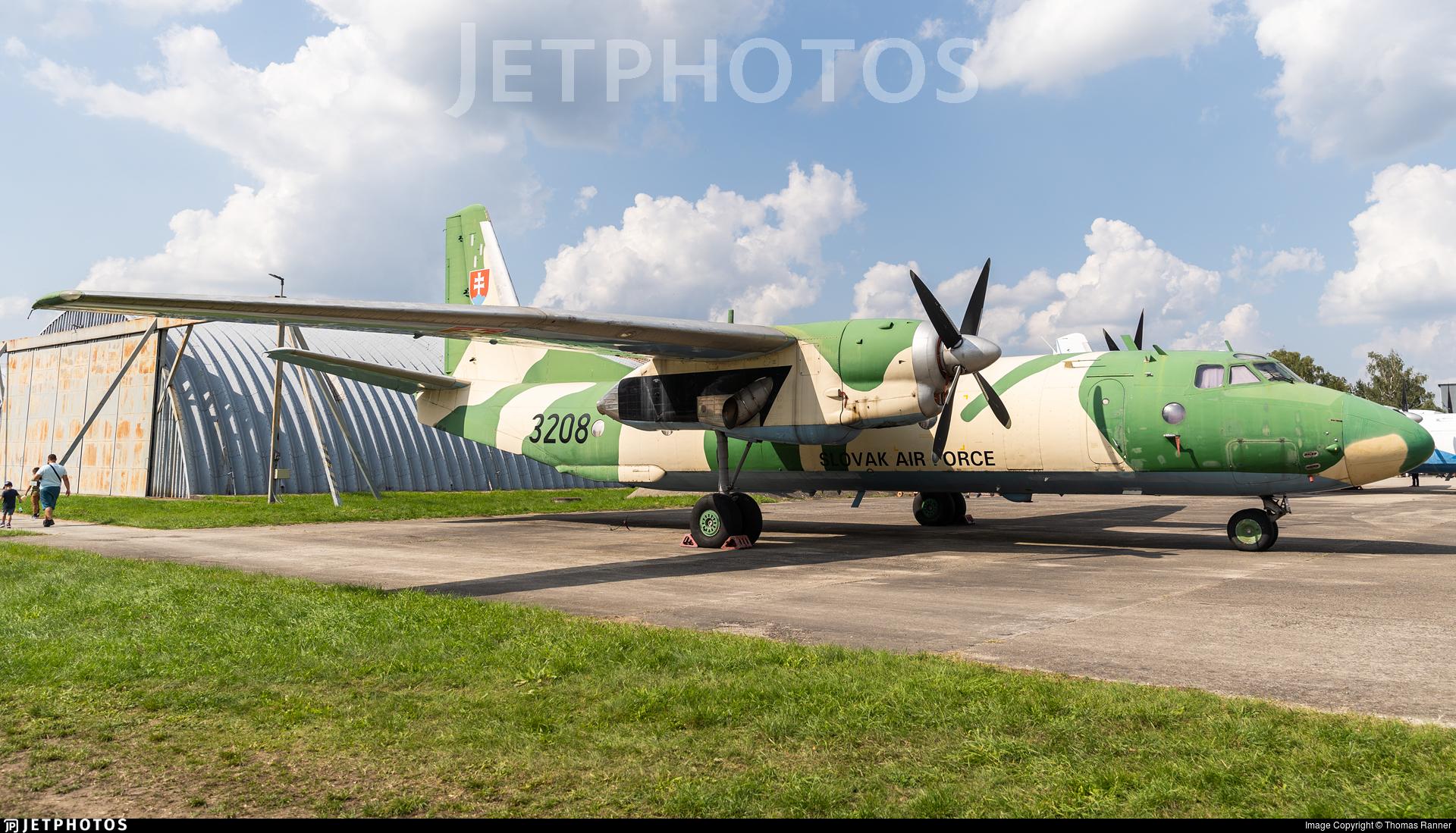 3208 - Antonov An-26 - Slovakia - Air Force