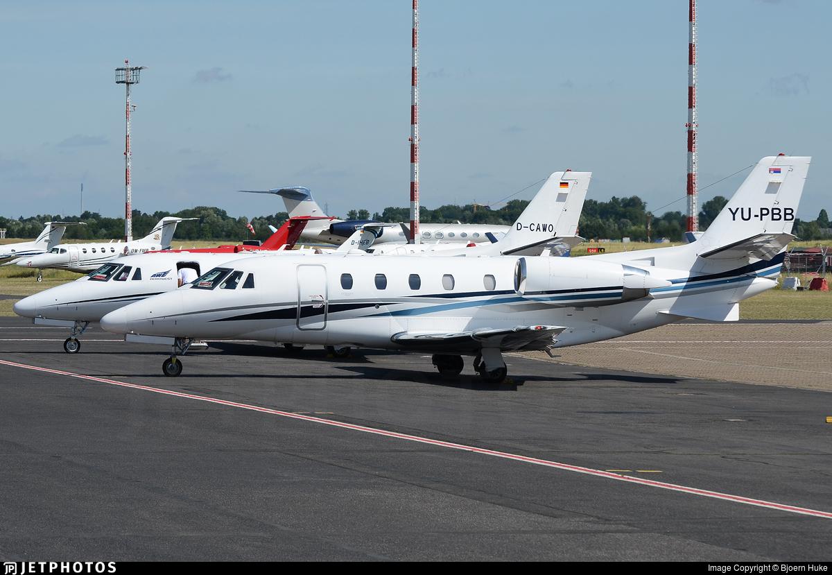 YU-PBB - Cessna 560XL Citation XLS Plus - Air Pink