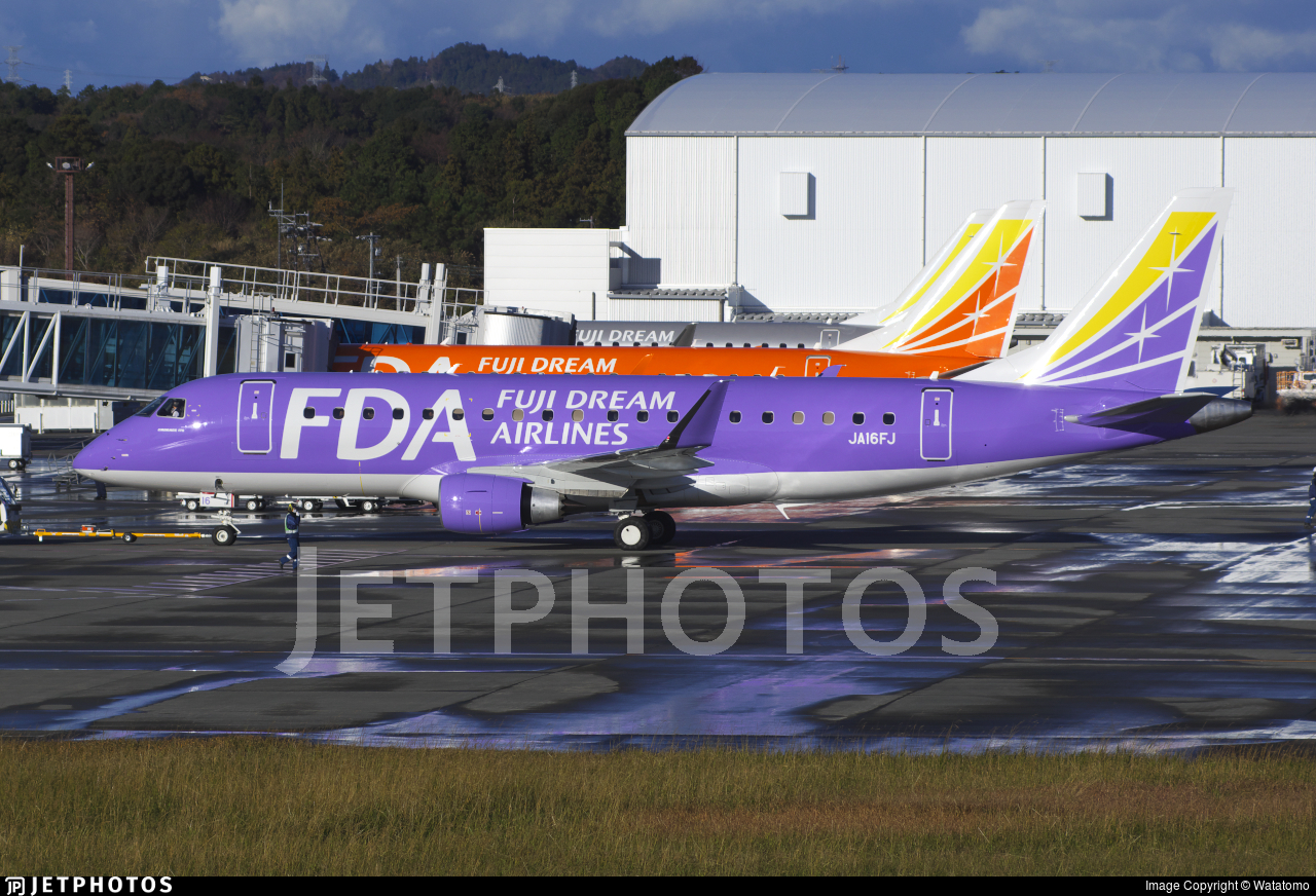 JA16FJ - Embraer 170-200STD - Fuji Dream Airlines