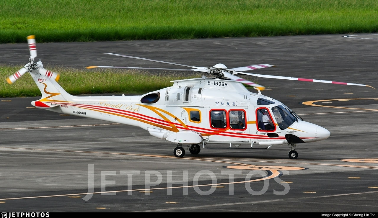 B-16988 - Agusta-Westland AW-169 - Emerald Pacific Airlines