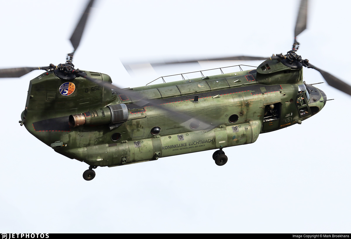 D-662 - Boeing CH-47D Chinook - Netherlands - Royal Air Force