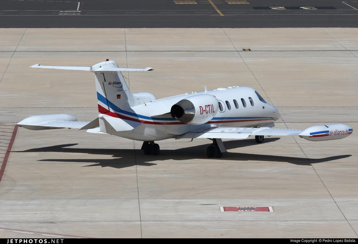 D-CTIL - Bombardier Learjet 35A - Air Alliance