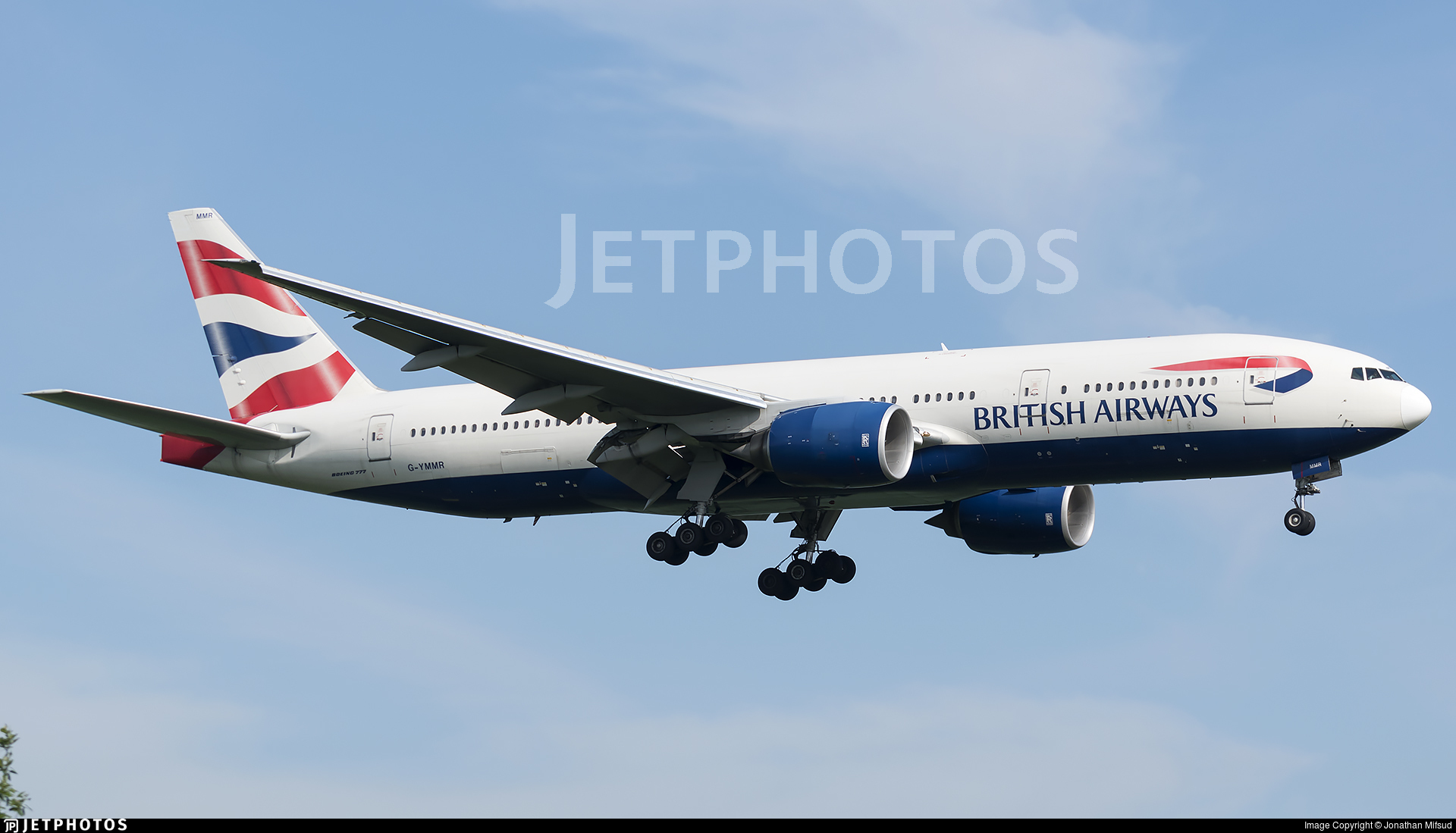 G-YMMR | Boeing 777-236(ER) | British Airways | Jonathan Mifsud ...