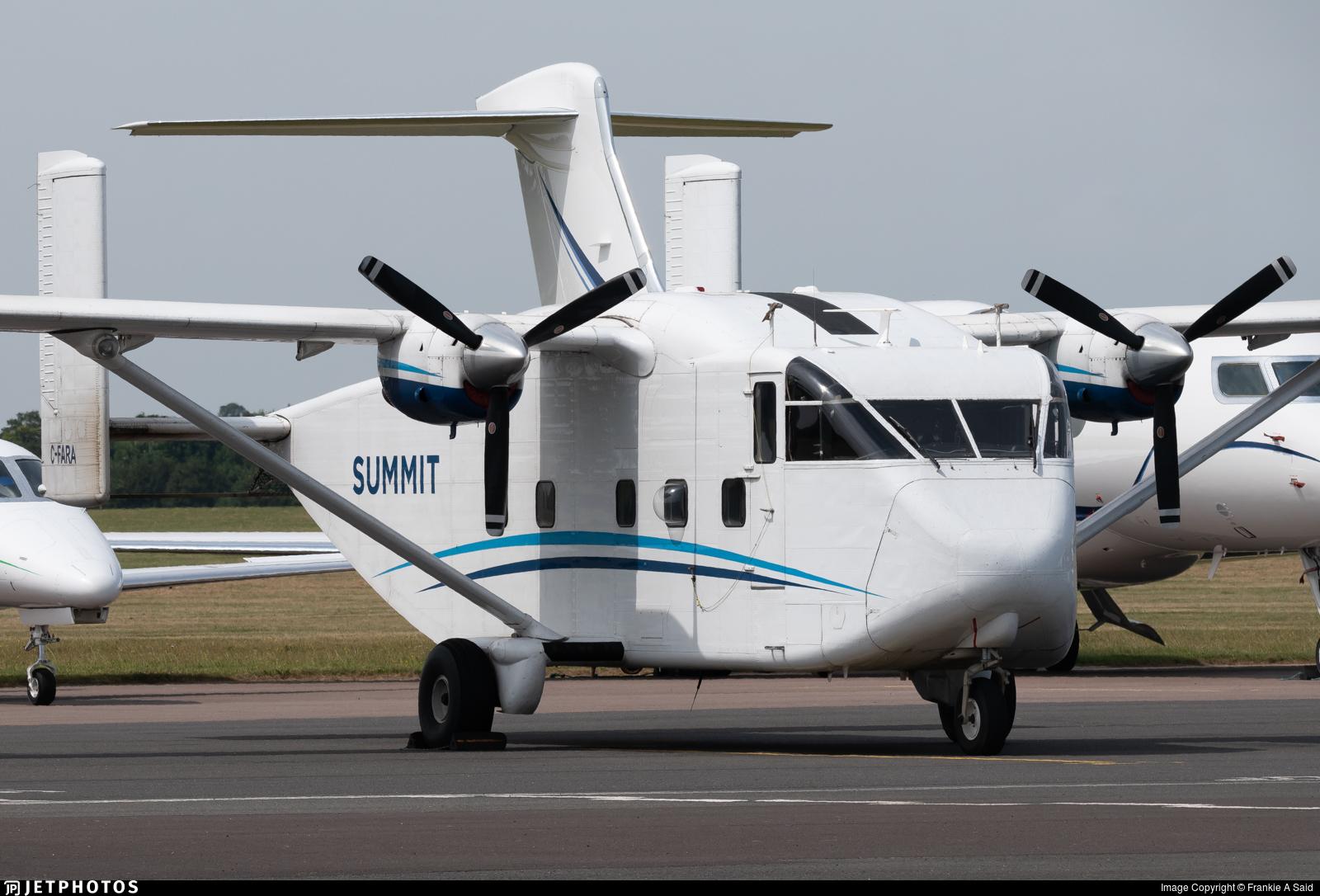 C-FARA - Short SC-7 Skyvan 3-100 - Summit Air