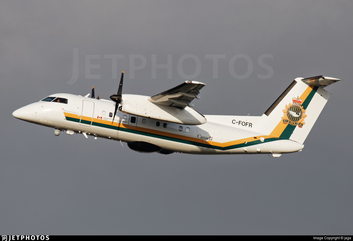 C-FOFR - Bombardier Dash 8-106 - Canada - Fisheries and Oceans