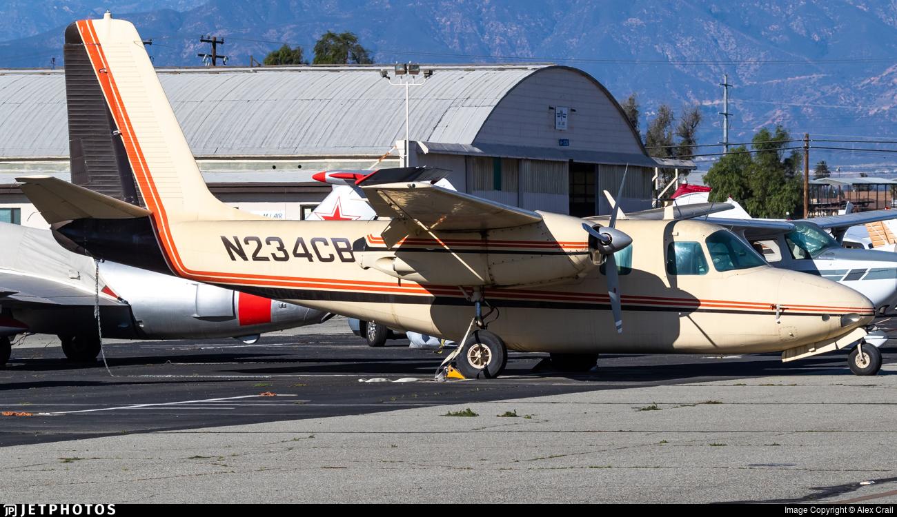 N234CB - Aero Commander 680 - Private