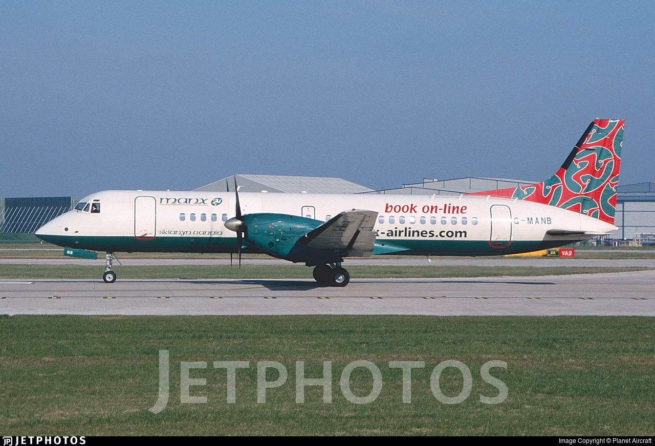 G-MANB - British Aerospace ATP - Manx Airlines