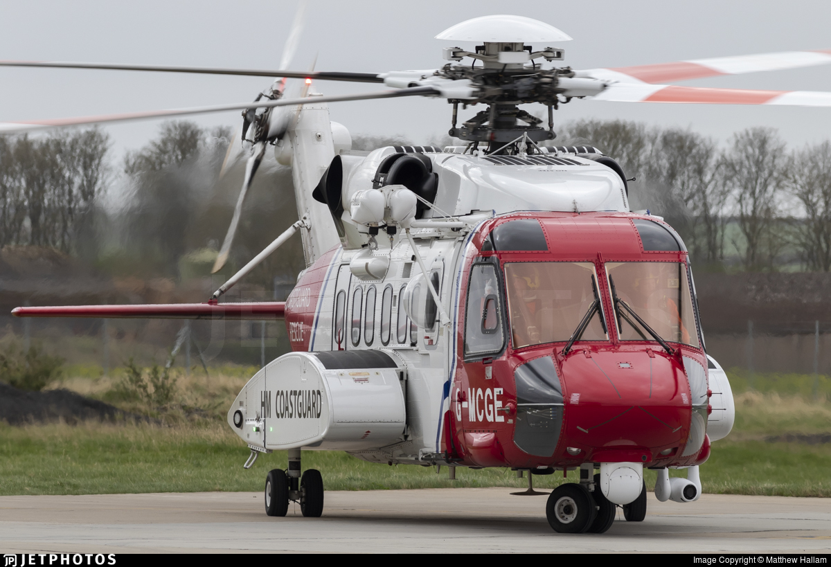 G-MCGE - Sikorsky S-92A Helibus - Bristow Helicopters