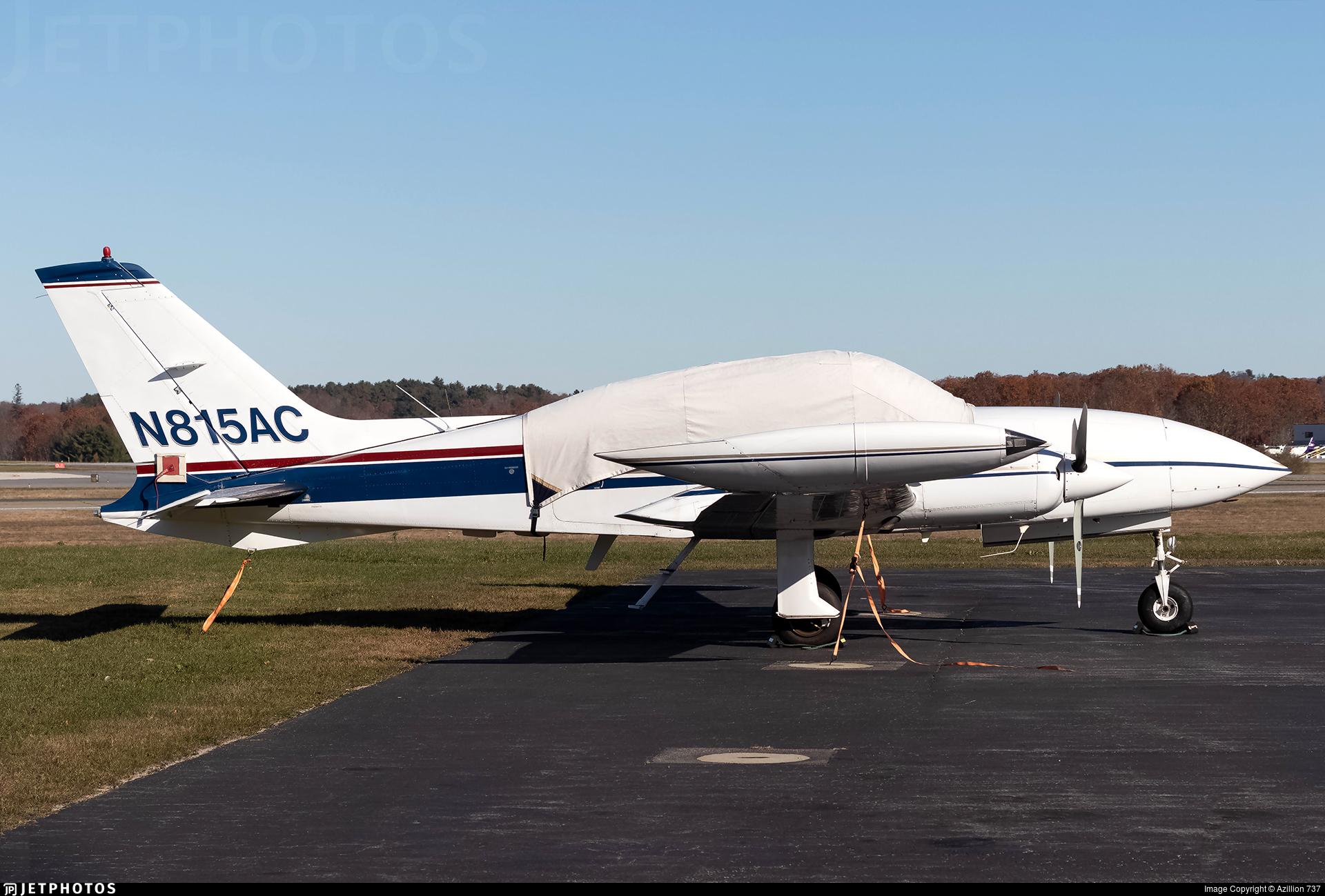 N815AC - Cessna 310R - Private