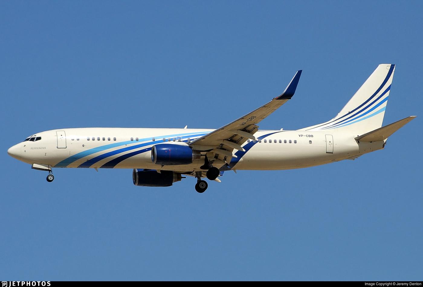 VP-CBB - Boeing 737-8AW(BBJ2) - Bugshan Group