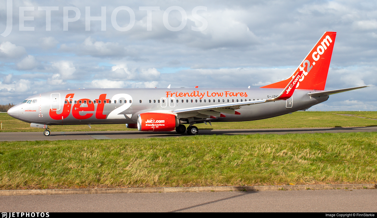 G-JZHP - Boeing 737-8MG - Jet2.com