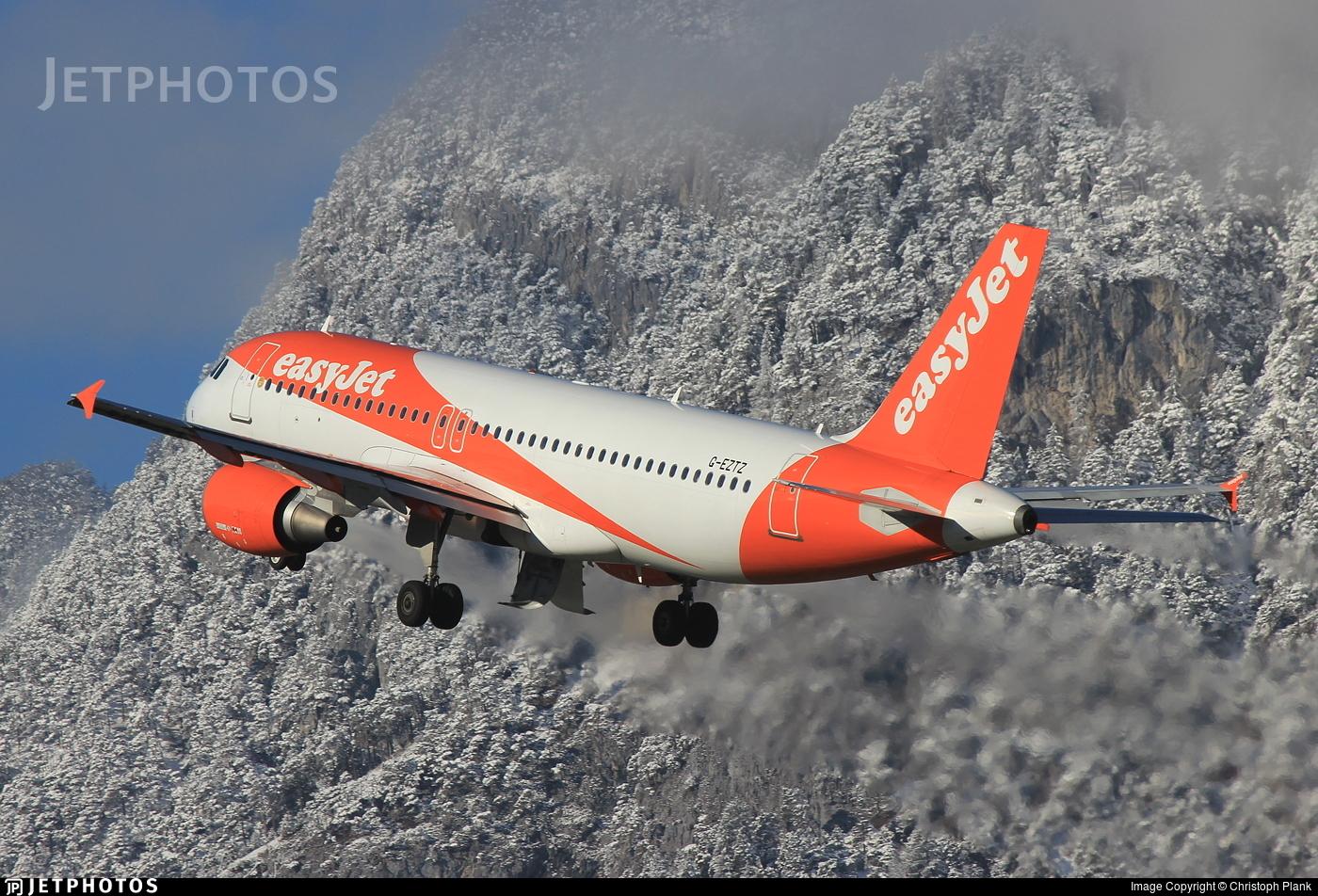 G-EZTZ - Airbus A320-214 - easyJet