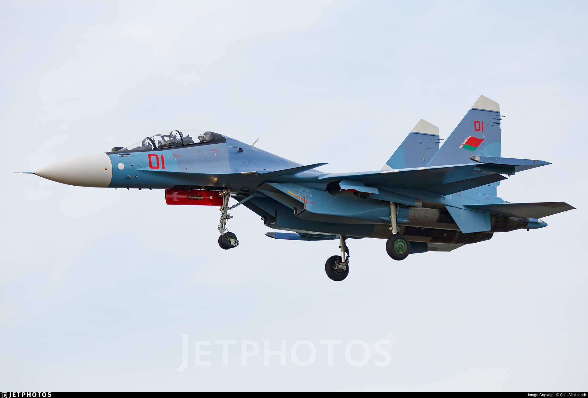 01 - Sukhoi Su-30SM - Belarus - Air Force