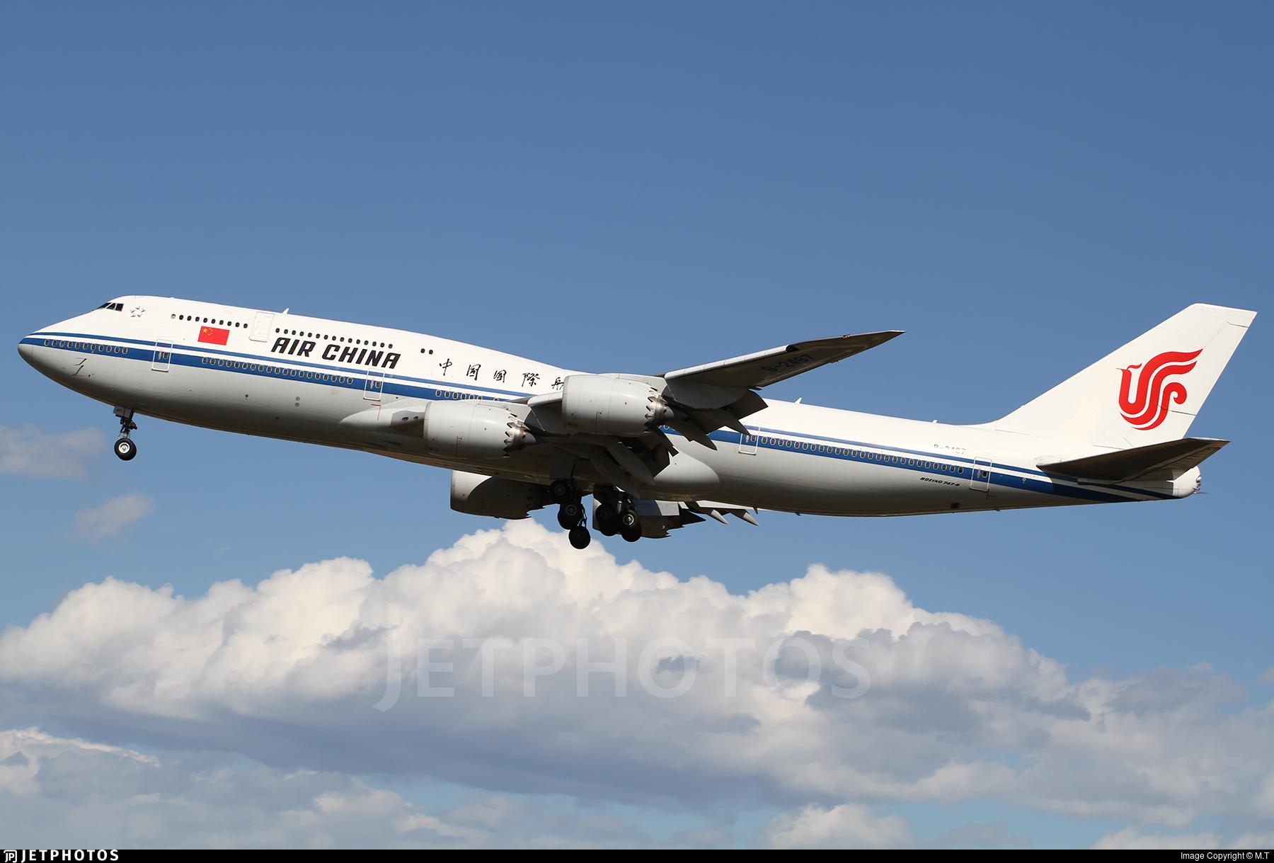 B-2487 - Boeing 747-89L - Air China