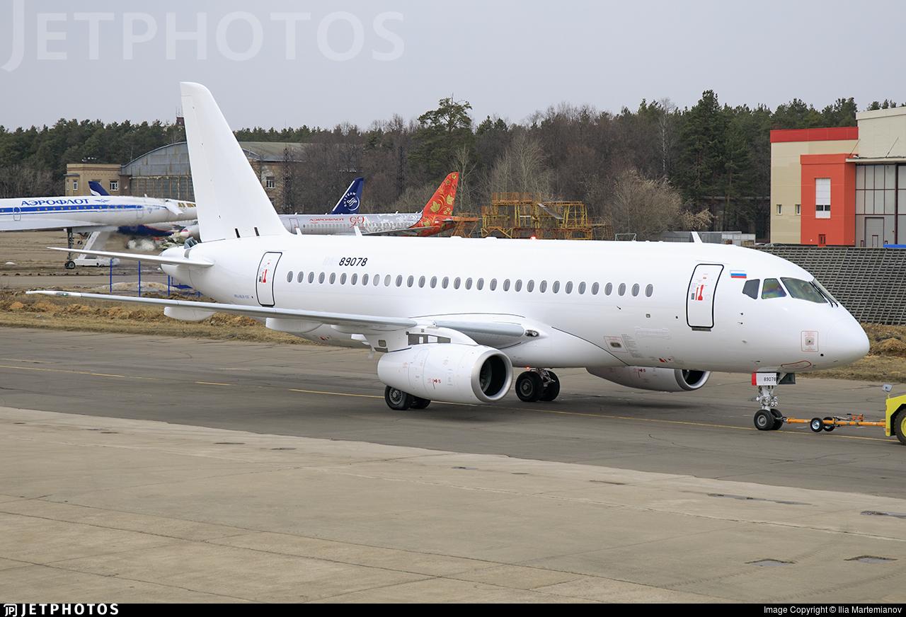 RA-89078 - Sukhoi Superjet 100-95LR - Sukhoi Design Bureau