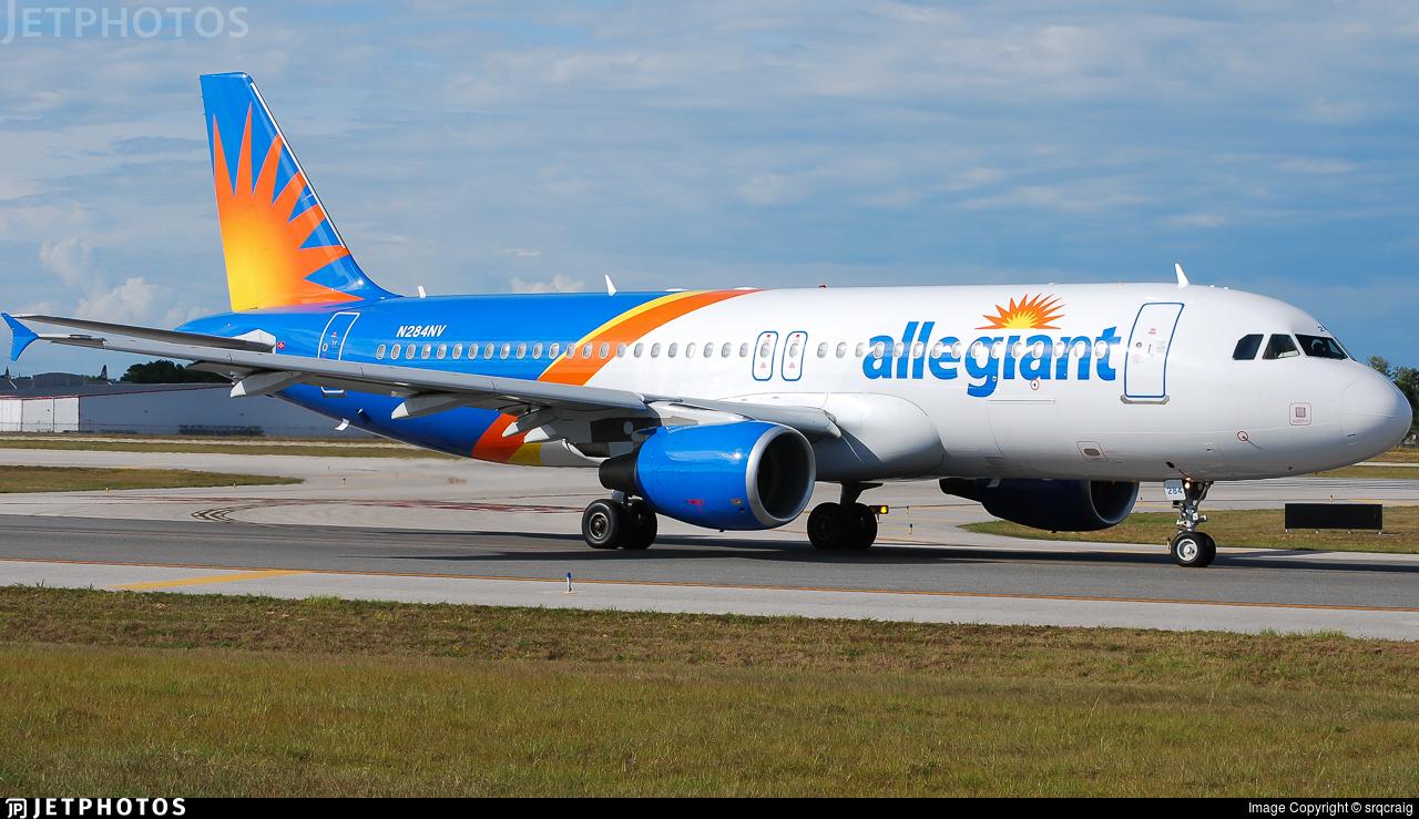 N284NV - Airbus A320-214 - Allegiant Air