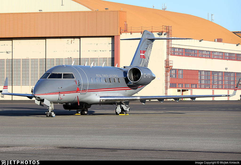 C-172 - Bombardier CL-600-2B16 Challenger 604 - Denmark - Air Force
