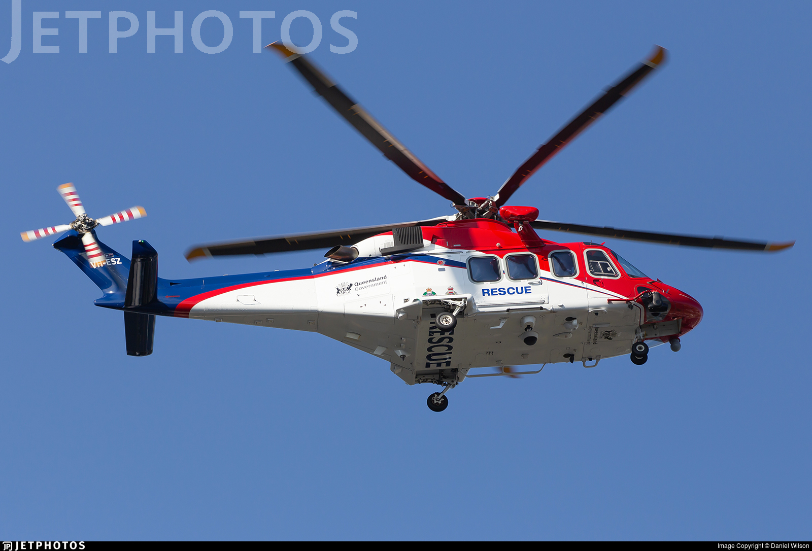 VH-ESZ - Agusta-Westland AW-139 - Australia - Queensland Government