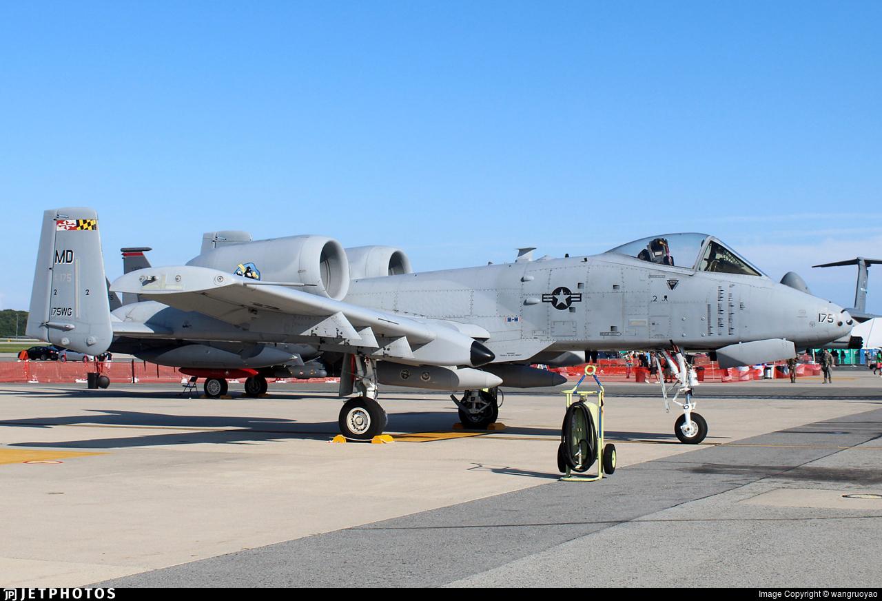 79-0175 - Fairchild A-10C Thunderbolt II - United States - US Air Force (USAF)