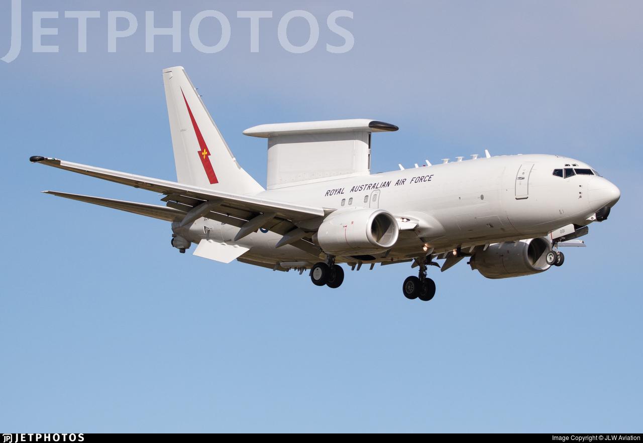 A30-001 - Boeing E-7A Wedgetail - Australia - Royal Australian Air Force (RAAF)