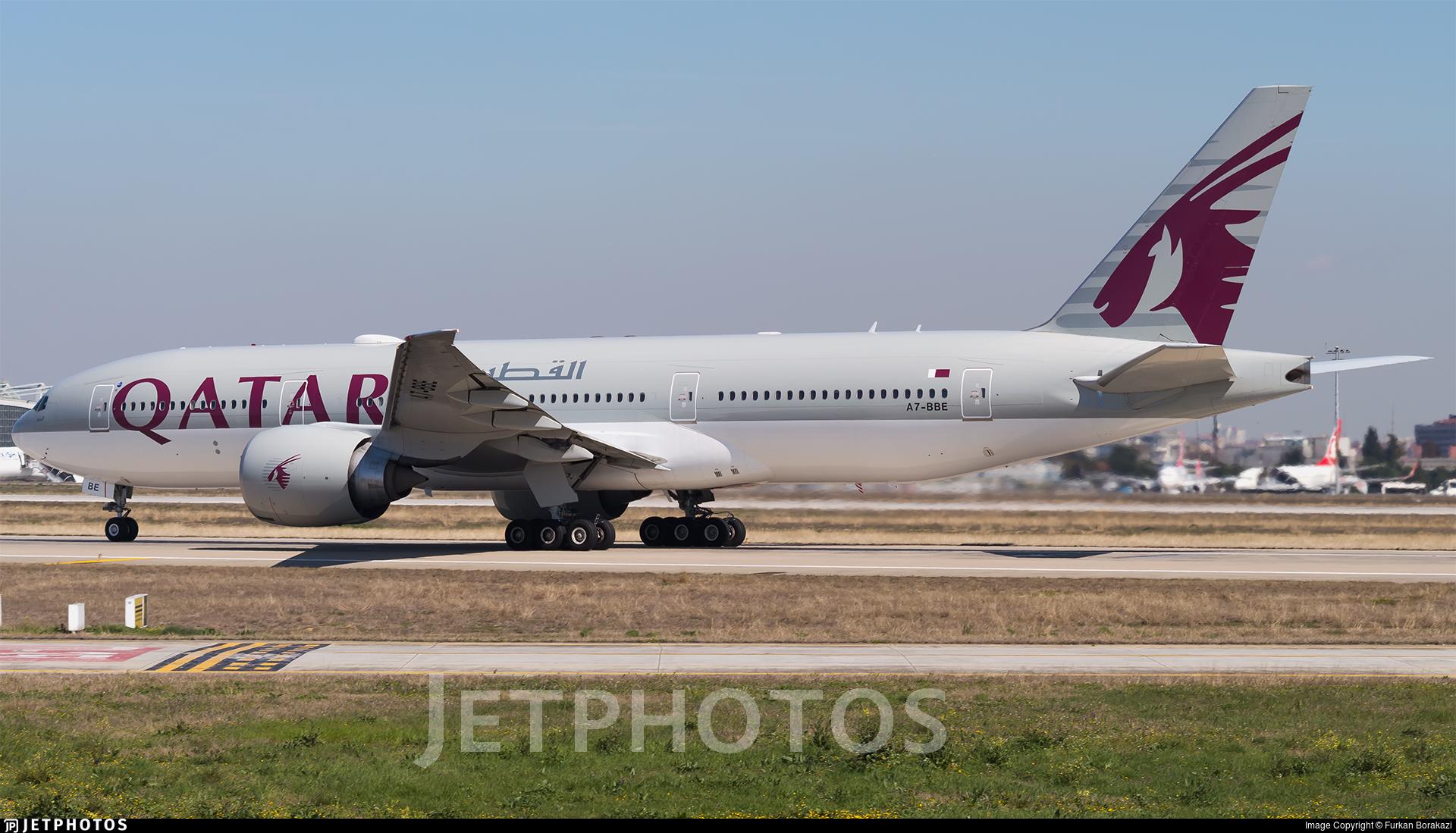 A7-BBE - Boeing 777-2DZLR - Qatar Airways