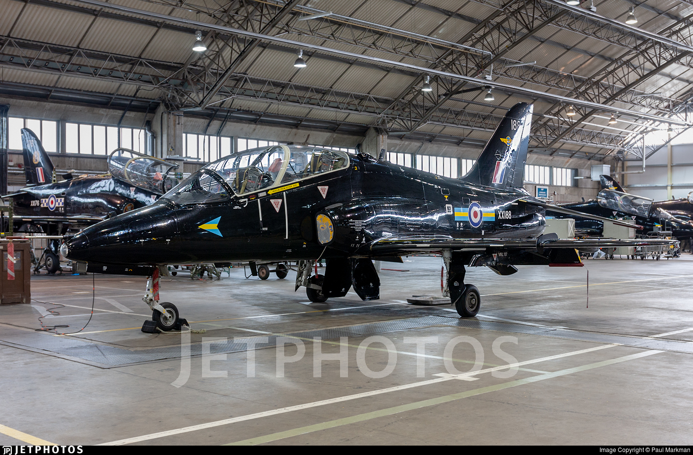 XX188 - British Aerospace Hawk T.1A - United Kingdom - Royal Air Force (RAF)