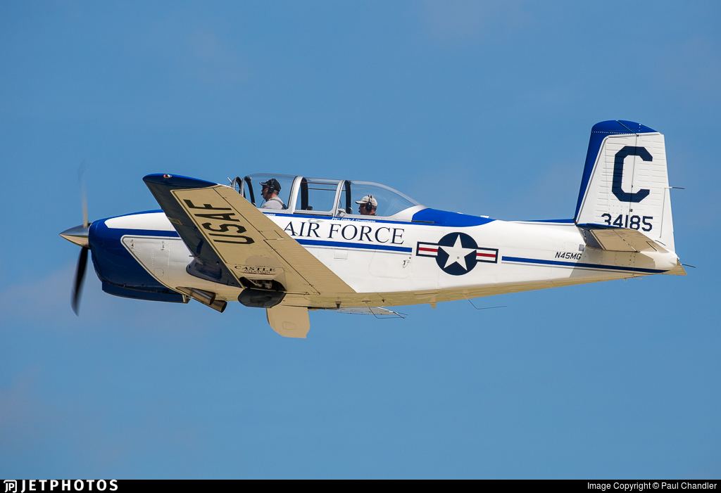 N45MG - Beechcraft T-34A Mentor - Private