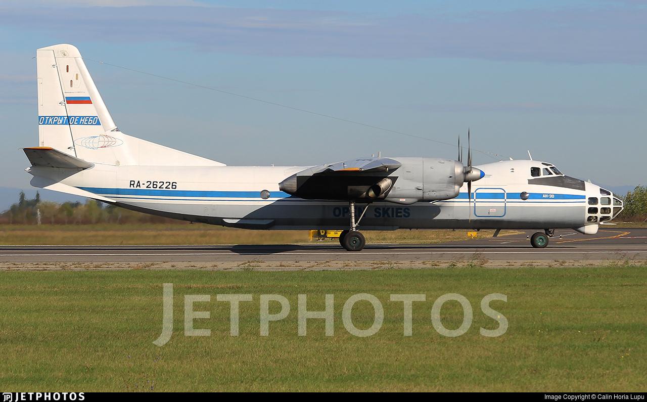 RA-26226 - Antonov An-30 - Russia - Air Force
