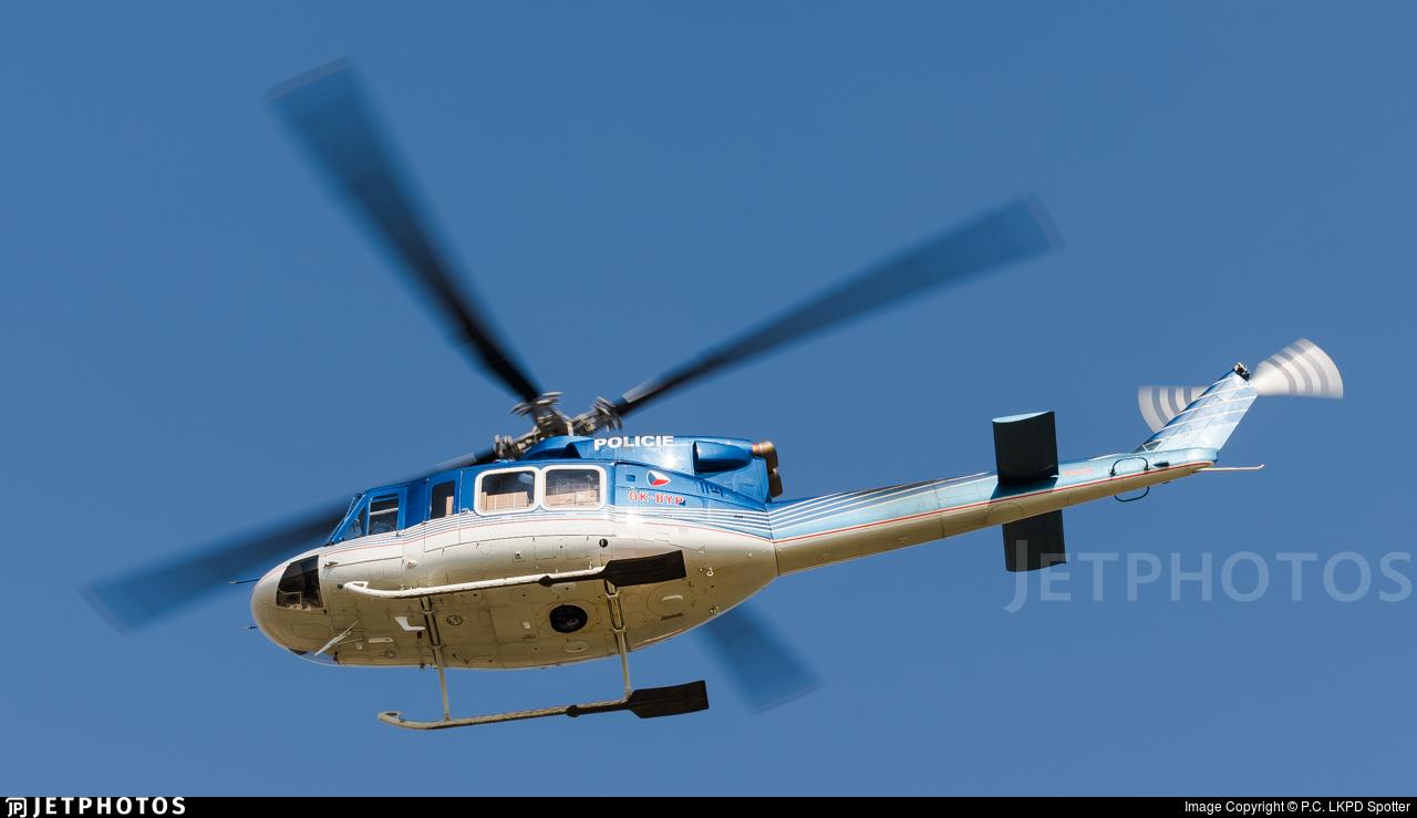 OK-BYP - Bell 412EP - Czech Republic - Police