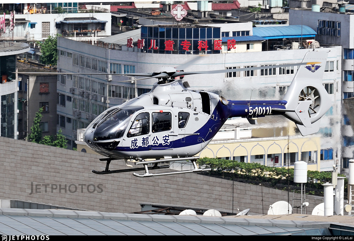 51011L - Eurocopter EC 135 - Sichuan Xiling Fengteng General Aviation