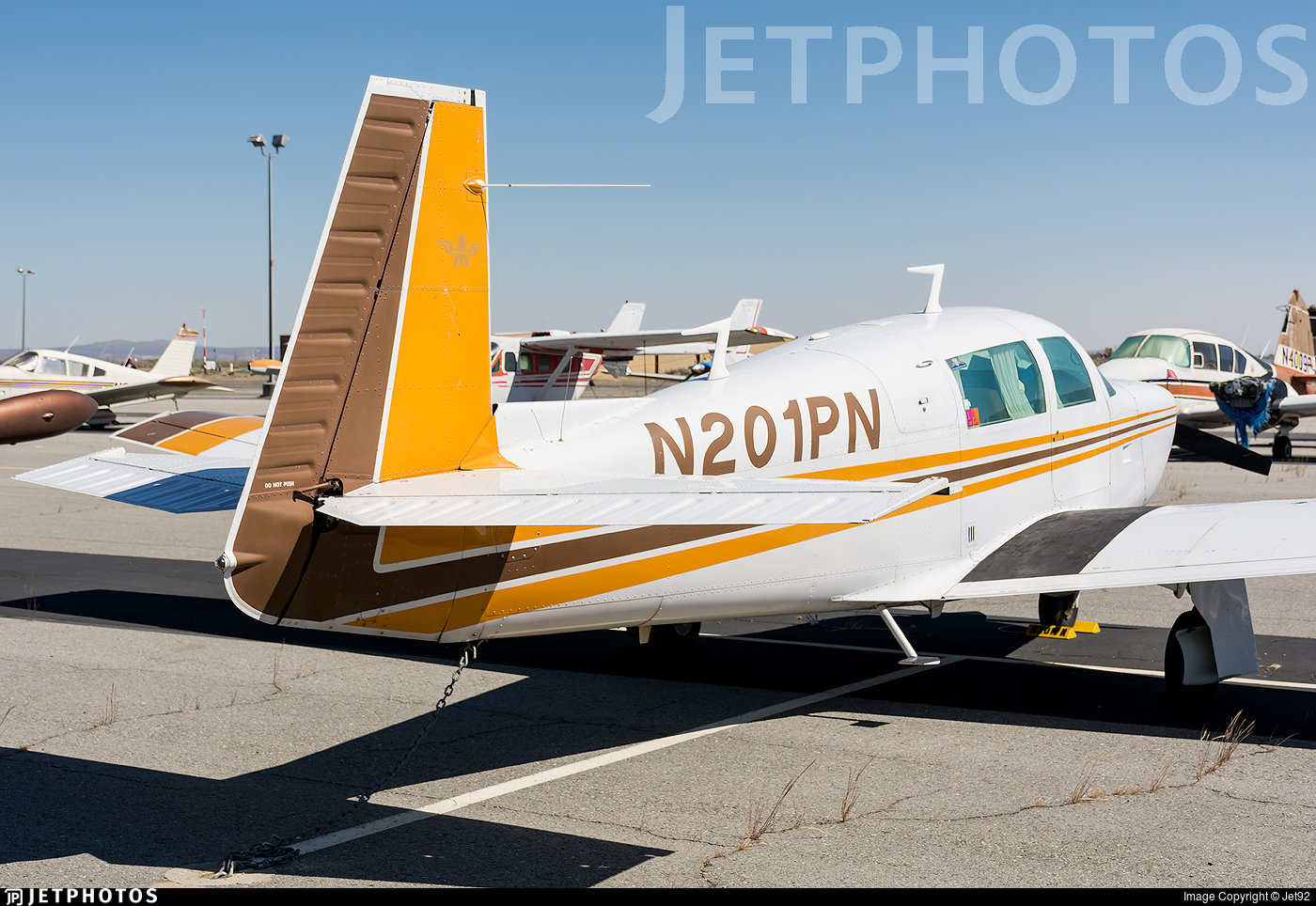 N201PN - Mooney M20J-201 - Private
