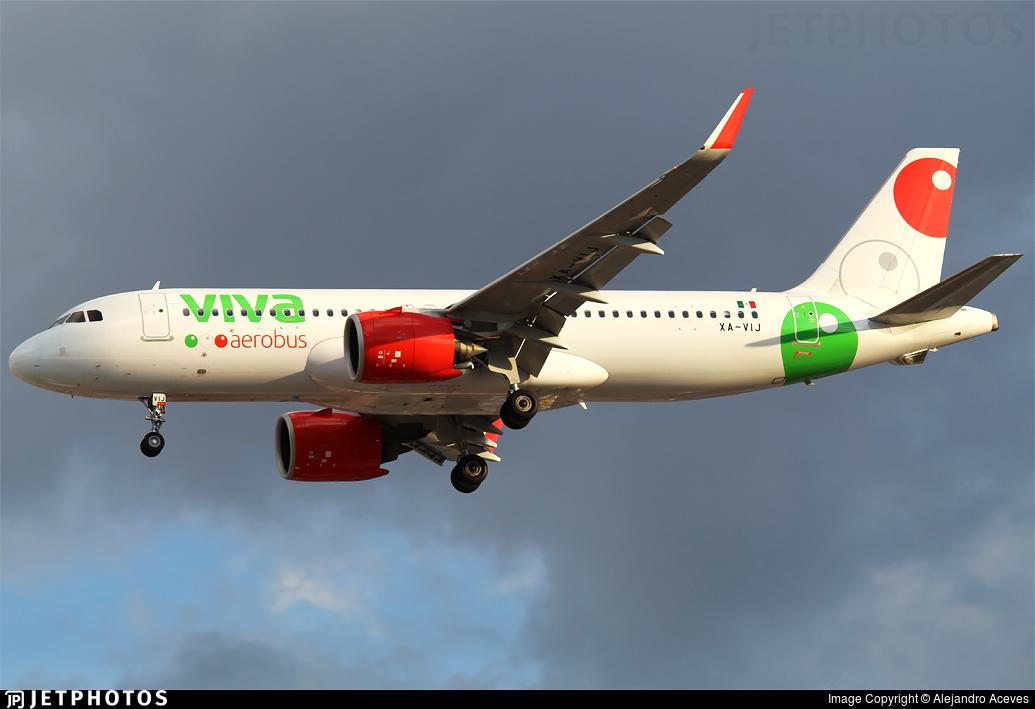 XA-VIJ - Airbus A320-271N - VivaAerobus