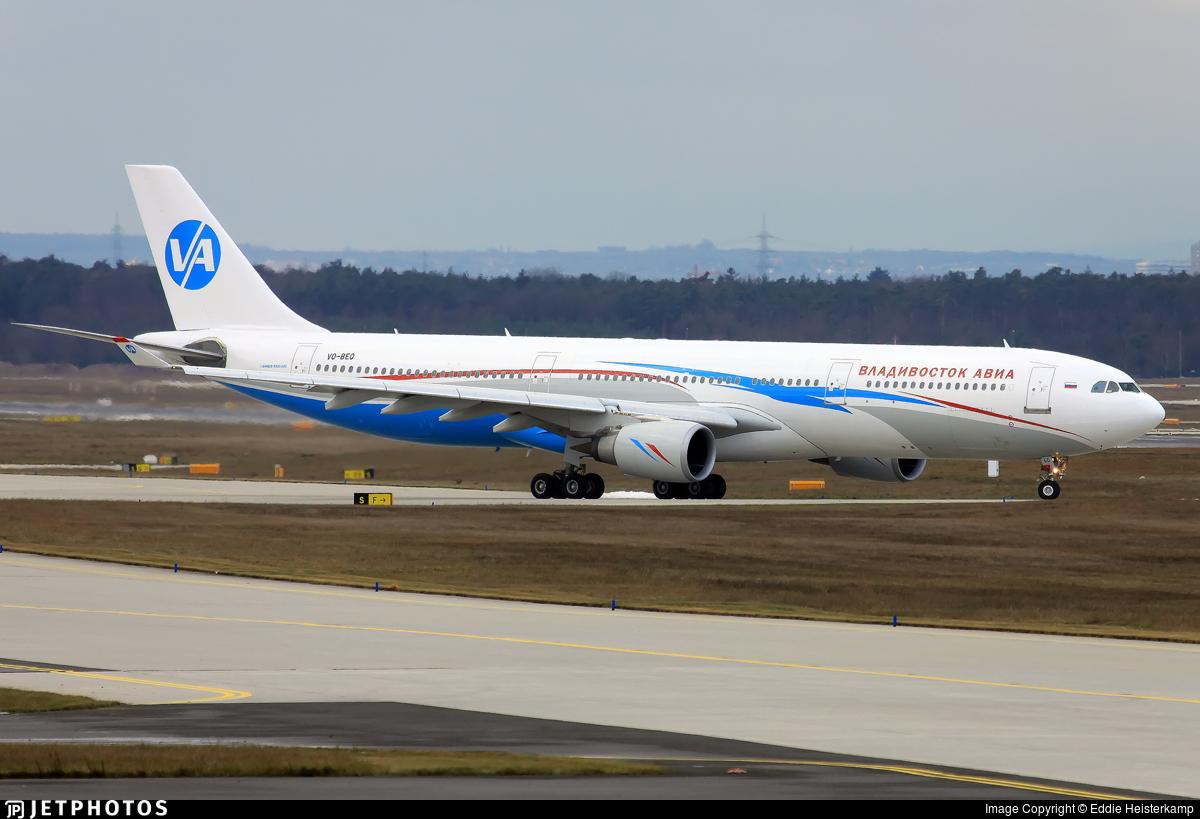VQ-BEQ - Airbus A330-301 - Vladivostok Air