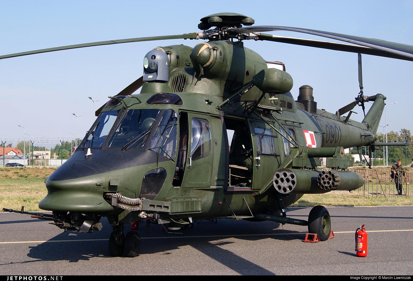 0901 - PZL-Swidnik W3PL Gluszec - Poland - Army