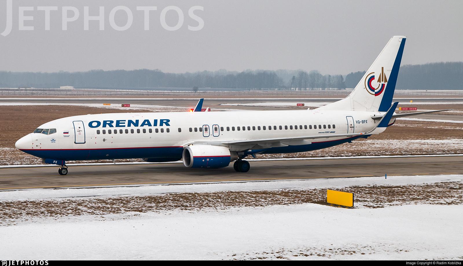 VQ-BPX - Boeing 737-8Q8 - Orenair