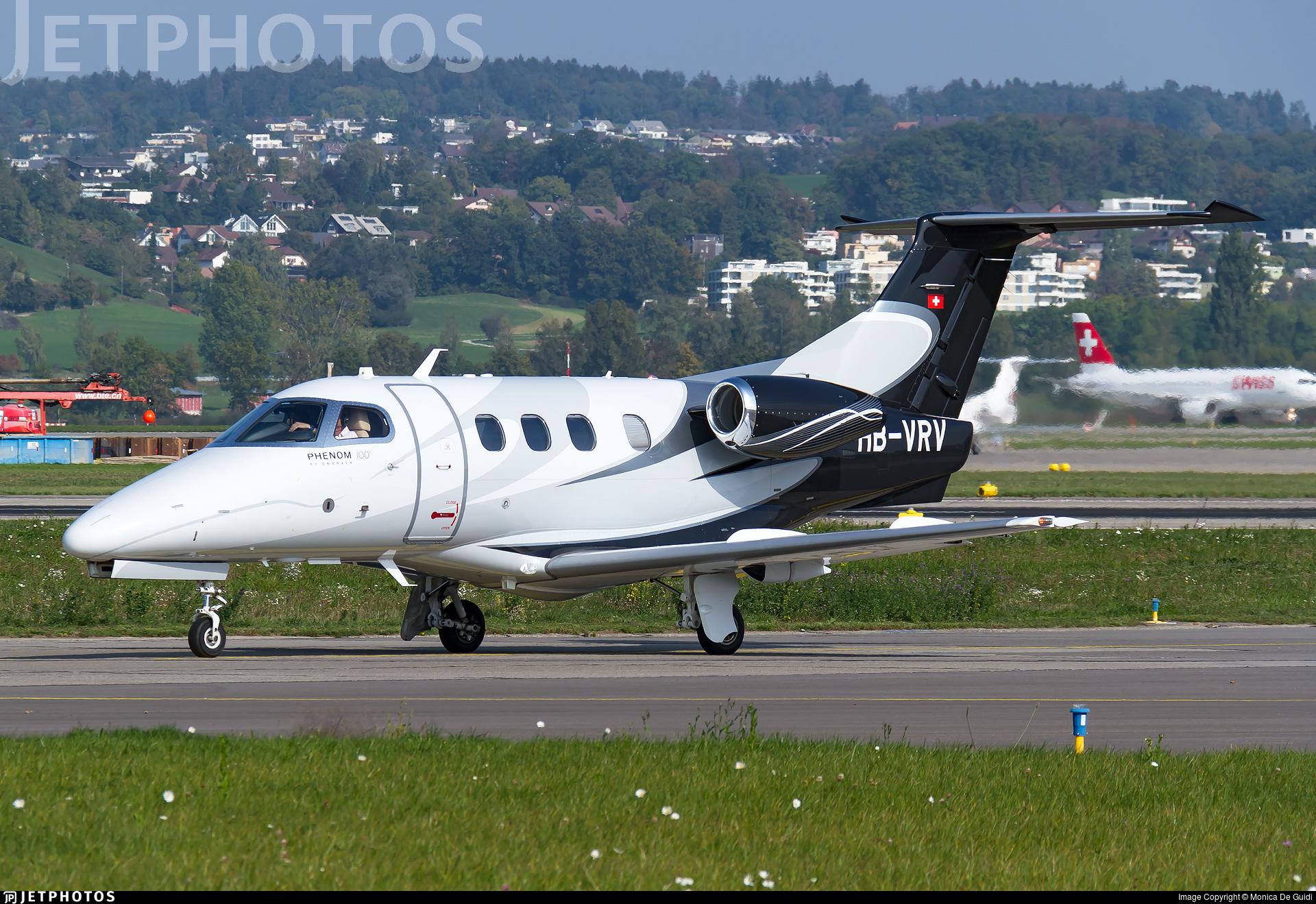 HB-VRV - Embraer 500 Phenom 100 - Air Connect