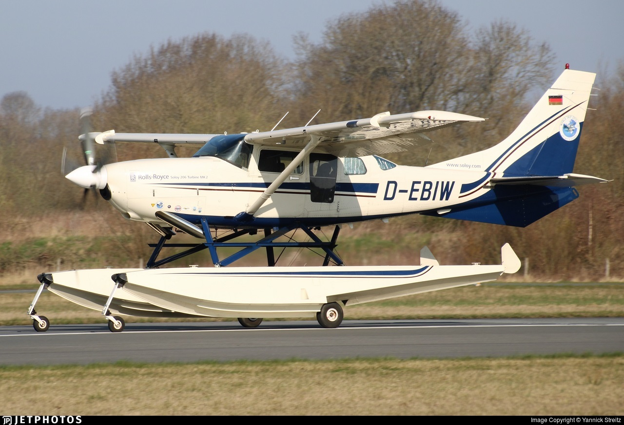 D-EBIW - Cessna U206G Stationair - Private