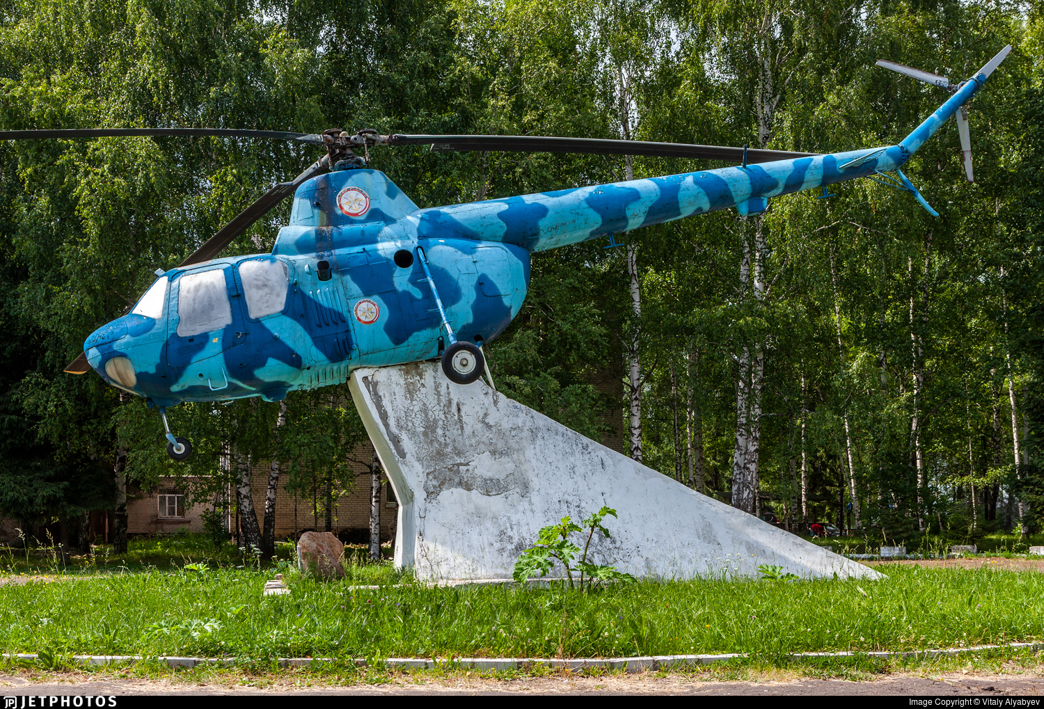 - Mil Mi-1 Hare - Russia - Voluntary Society for Assistance to the Army, Air Force and Navy (DOSAAF)