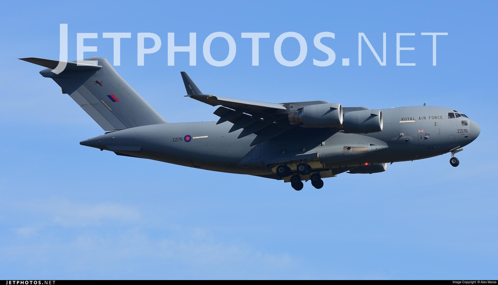 ZZ176 - Boeing C-17A Globemaster III - United Kingdom - Royal Air Force (RAF)