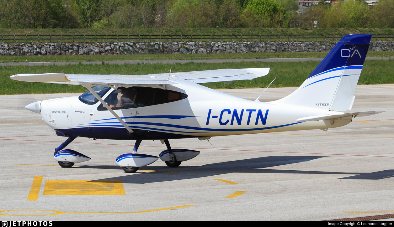 I-CNTN - Tecnam P2008JC MkII - Cantor Air