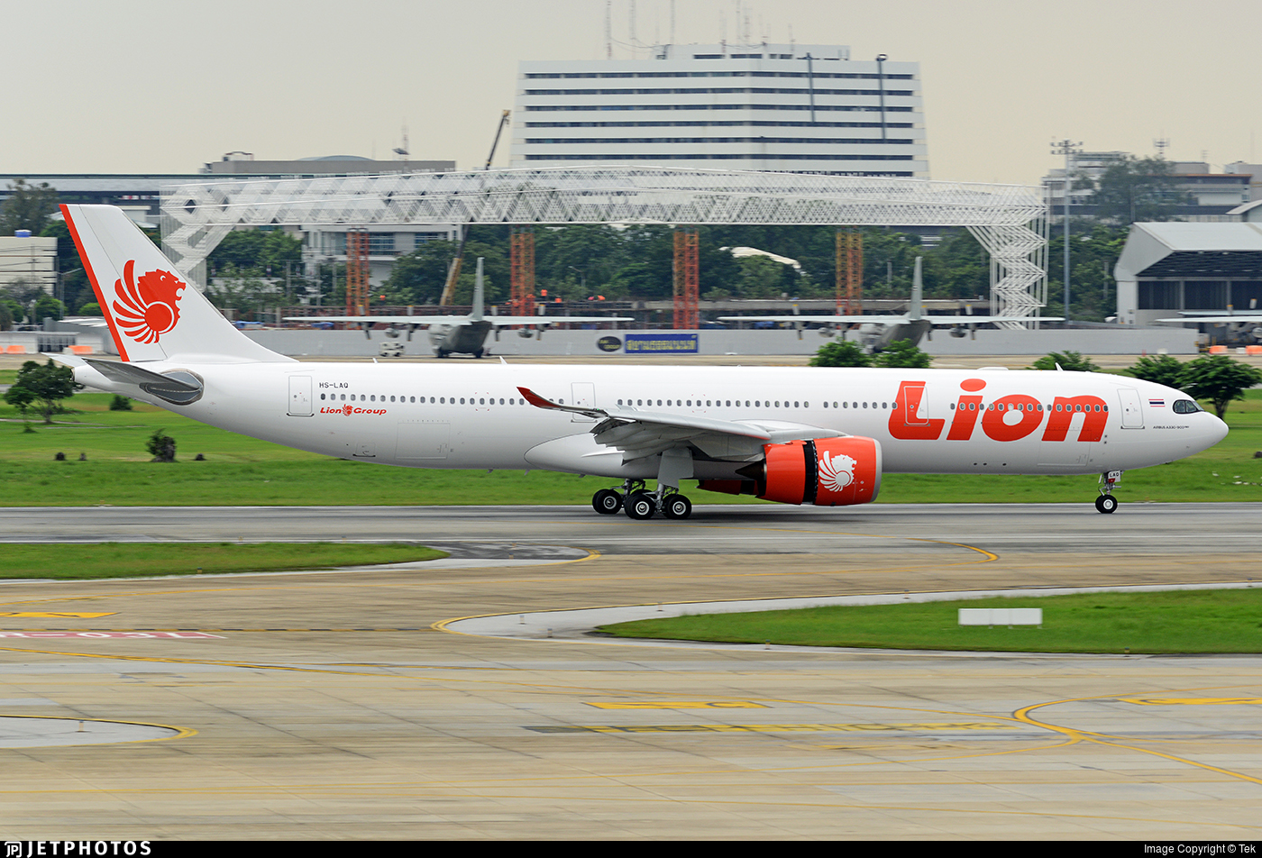HS-LAQ - Airbus A330-941 - Thai Lion Air