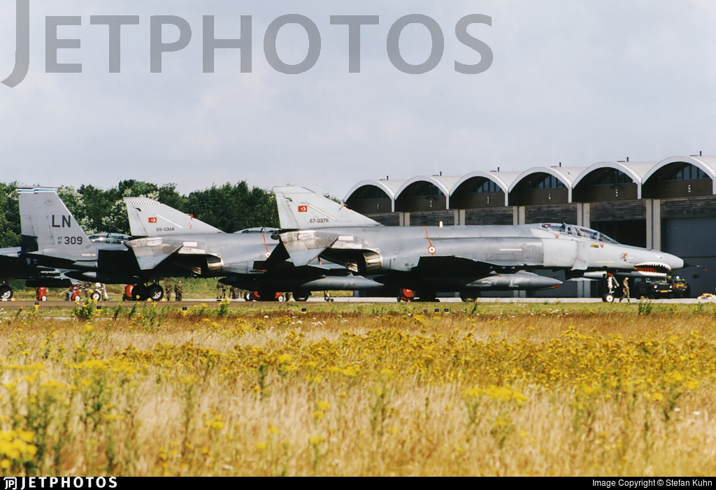 67-0376 - McDonnell Douglas F-4E Phantom II - Turkey - Air Force