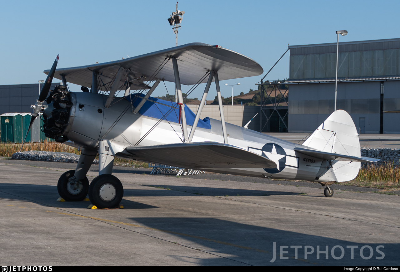 N48193 - Boeing A75N1 Stearman - Private