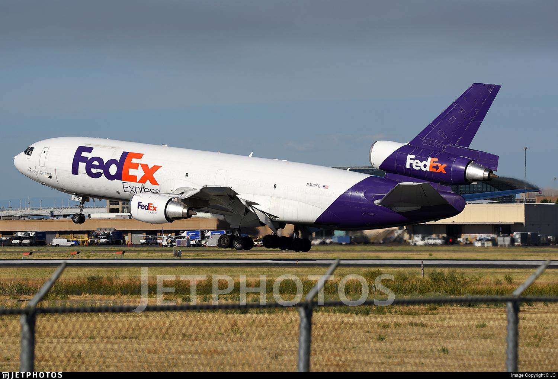 N306FE - McDonnell Douglas MD-10-30(F) - FedEx