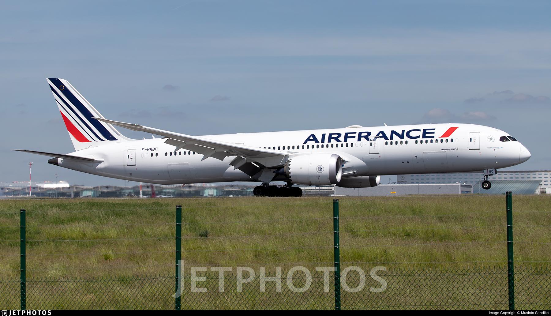 F-HRBC - Boeing 787-9 Dreamliner - Air France